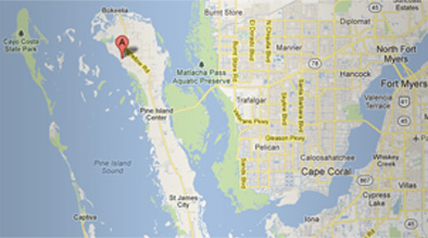 Location Details, Address and Map | Pineland Marina, Bokeelia ...