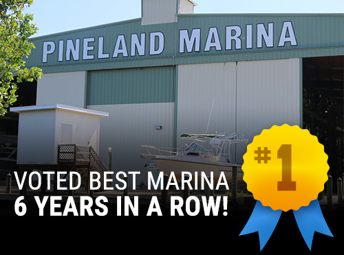 Voted Best Marina 6 Years in a Row!
