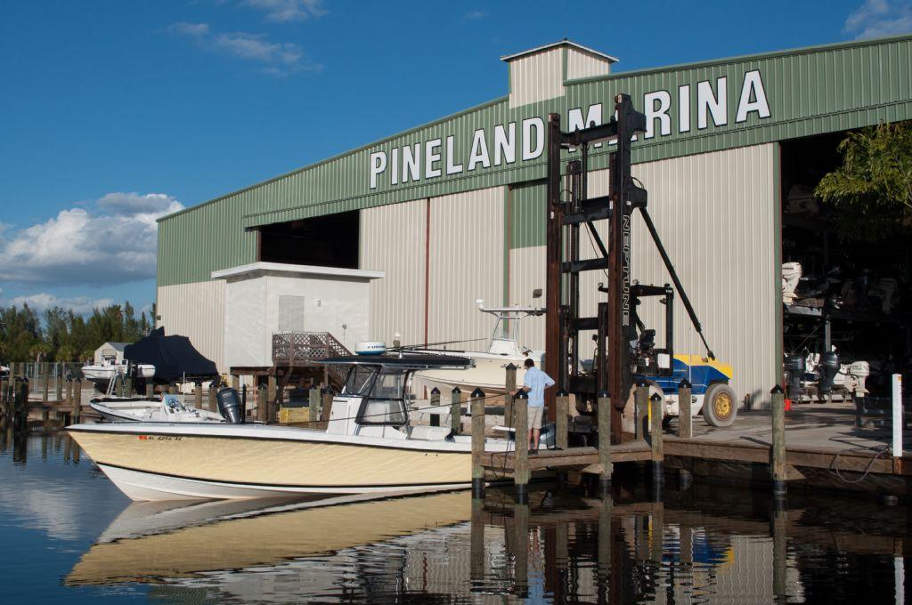 Dry Rack Storage & Dry Storage - Pineland Marina